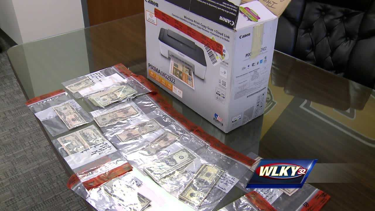 Initially, he told police he must have gotten a bad bill from his boss for doing a job. Later, police found hundreds of dollars in fake cash on him and a printer in a friend's car.