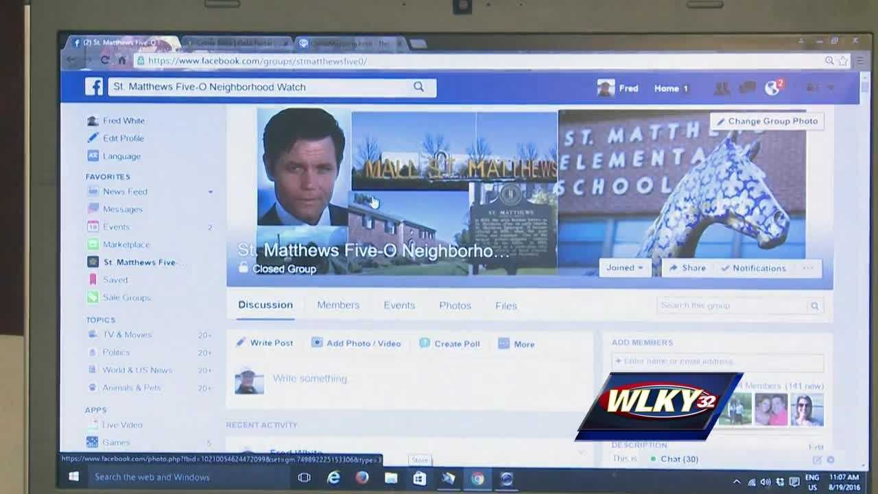 A new social media site gives residents a chance to track crime in their community.