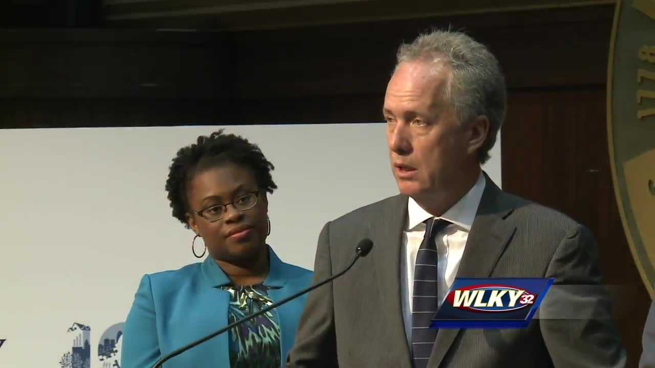 On Monday morning, Mayor Greg Fischer held a news conference releasing details about an upcoming summit to discuss a healthier Louisville and local leaders are calling for city-wide input.