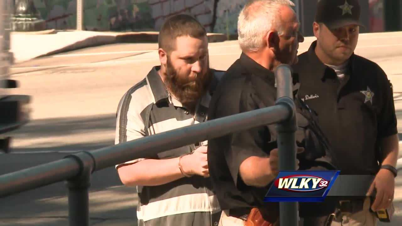 A man charged with a double homicide in Salem, Indiana, pleads not guilty.