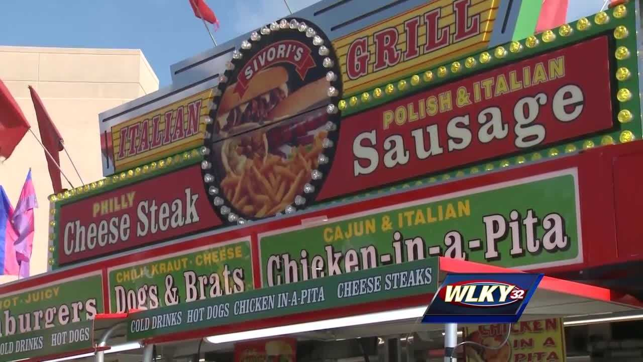 One of the most popular attractions at the state fair is the selection of foods, and there's always something new.