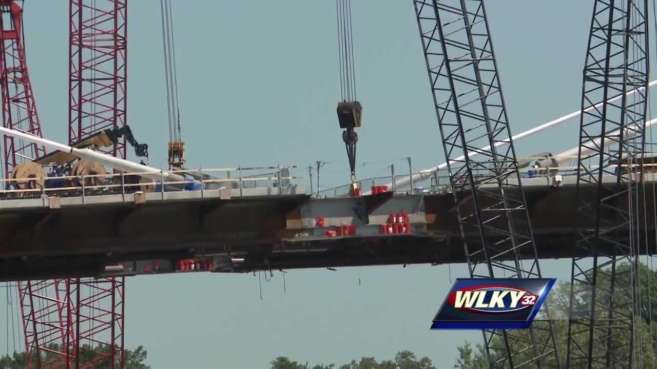 The bridge is on schedule to open in December.