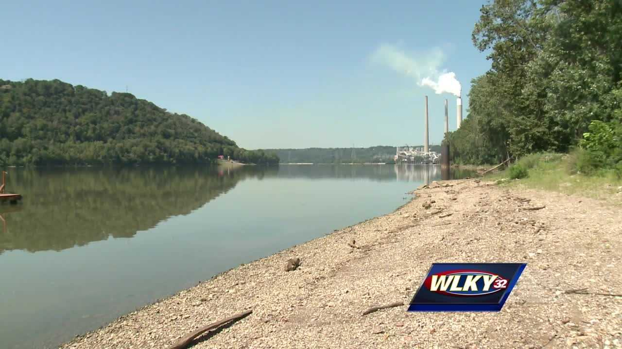 The deputy coroner said the leg was found on the property of the power plant a few feet out of the water.