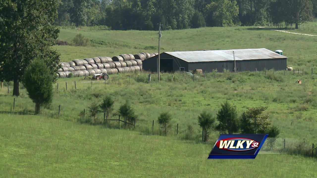 The Nelson County Sheriff's Office said it is executing search warrants on two separate pieces of property.