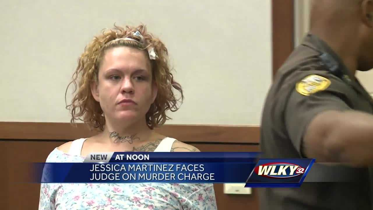 A woman accused of killing her baby more than eight years ago appeared in Jefferson County court for the first time.