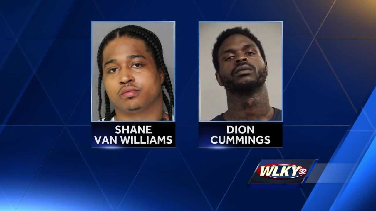 Police said Dion Cummings and Shane Van Williams were trying to steal heroin from Joseph Key.