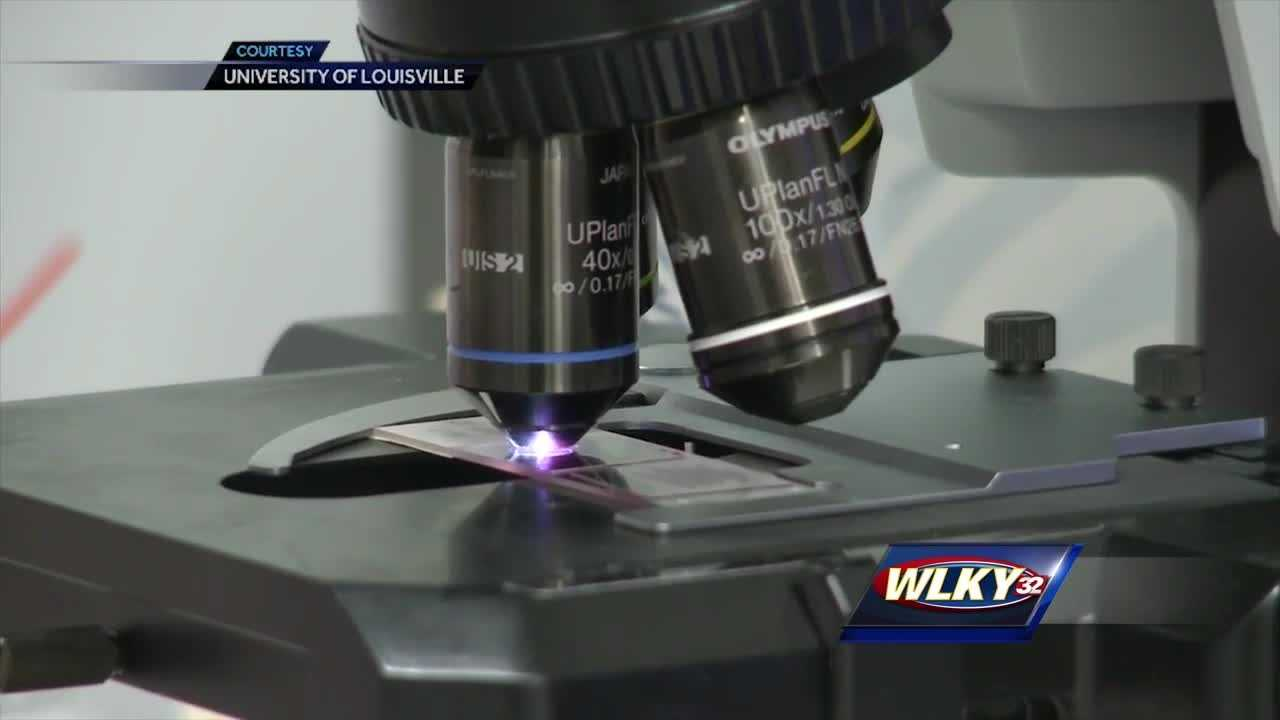 A news conference was held to announce the millions UofL recieved to study liver disease.