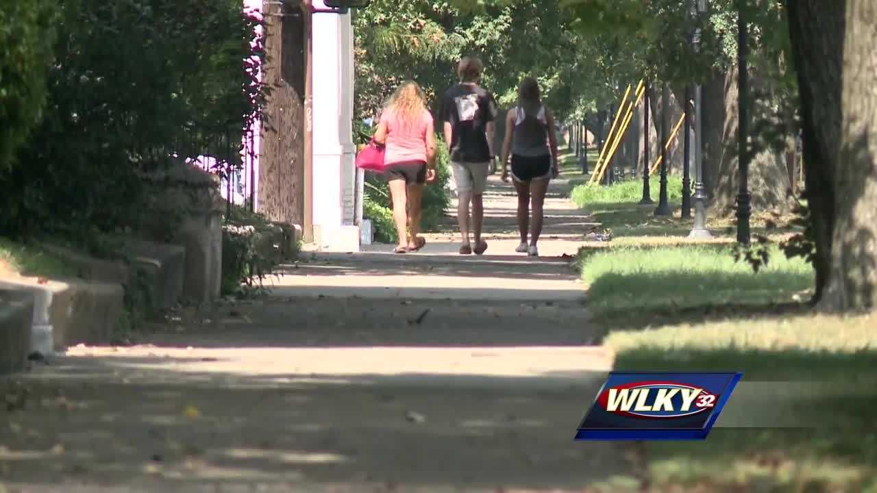 An investigation is underway after two women were sexually assaulted near the University of Louisville campus, police said.