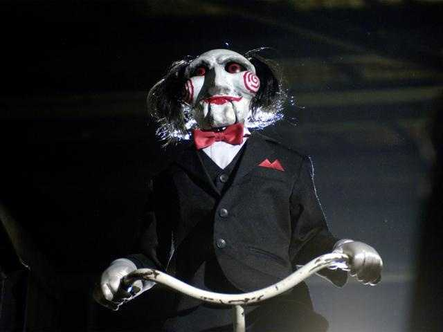 "11. ""Saw"": Two men held captive by Jigsaw, a serial killer who presents his victims with a terrible choice? No thanks."