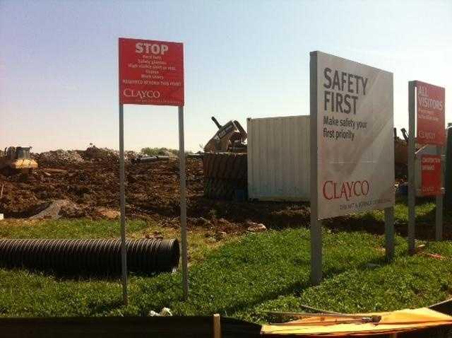 Images: Construction Begins