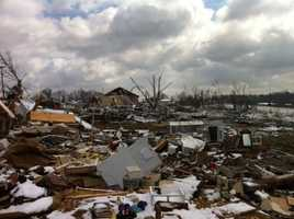 Images: Henryville Tornado Recovery Efforts