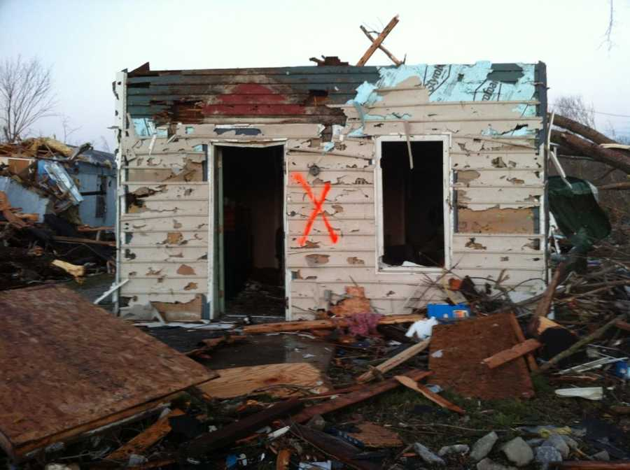 Images: Deaths, Heavy Damage Reported In Southern Ind.