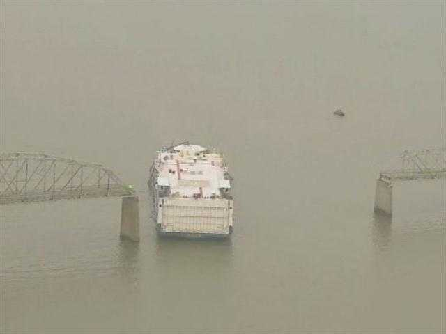 Transportation officials are at the scene of a bridge collapse in southwest Kentucky.