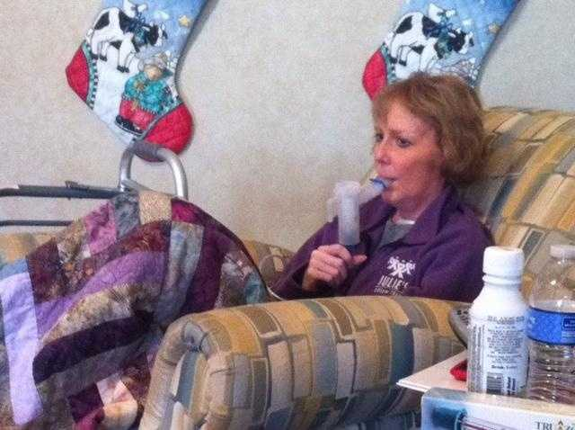 Images: Julie Ice's Double-Lung Transplant Recovery