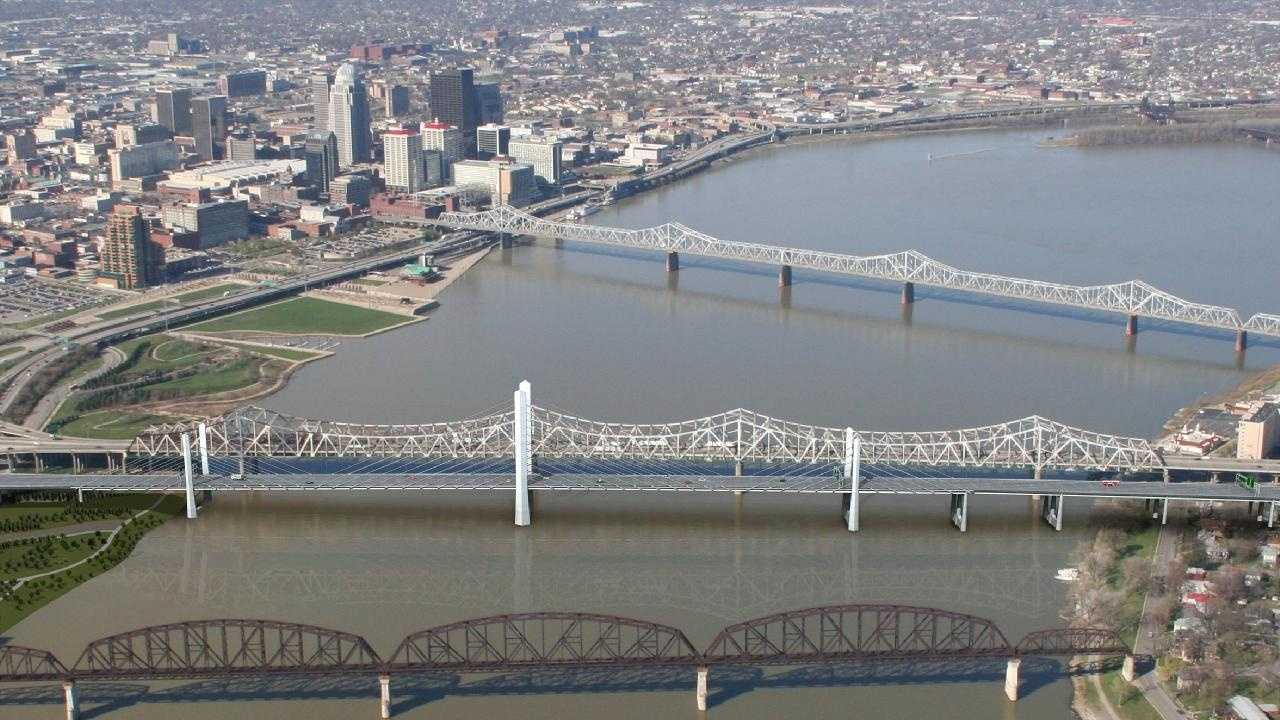 Downtown Bridge Aerial 2011 - 29802539