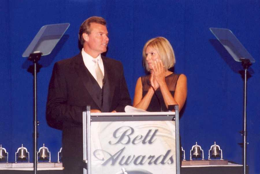 Rick Van Hoose and Vicki Dortch at the Bell Awards