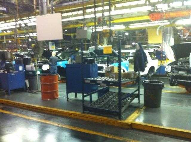 In 2002, Ford announced a major restructuring plan, both Louisville plants remain open.