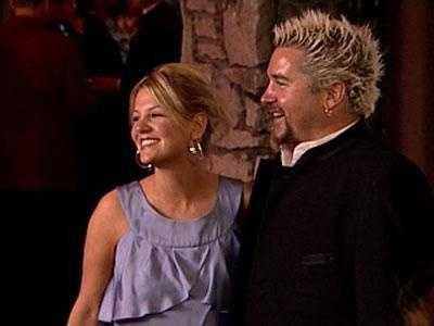 Guy Fieri and his wife, Lori