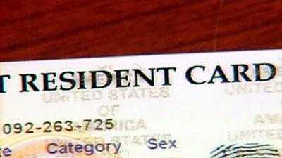 Illegal immigrant ID card - 9048789