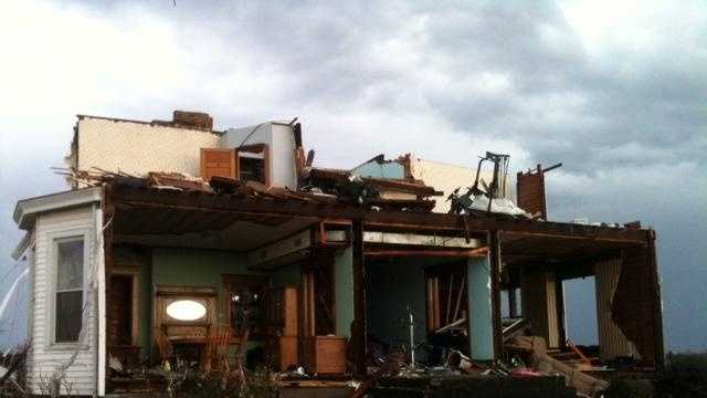 PINER HOUSE DESTROYED - 30600958