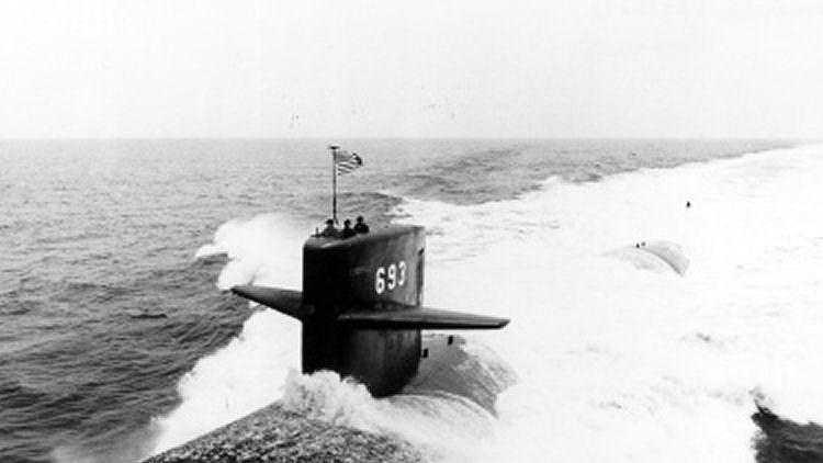USS Cincinnati during shakedown cruise