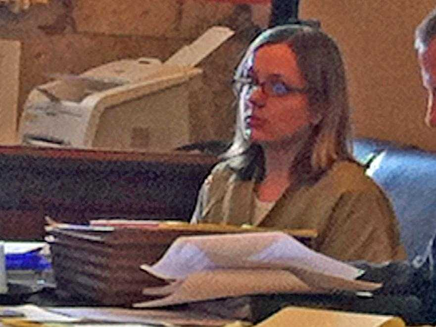 Samantha Brewer in court in 2010