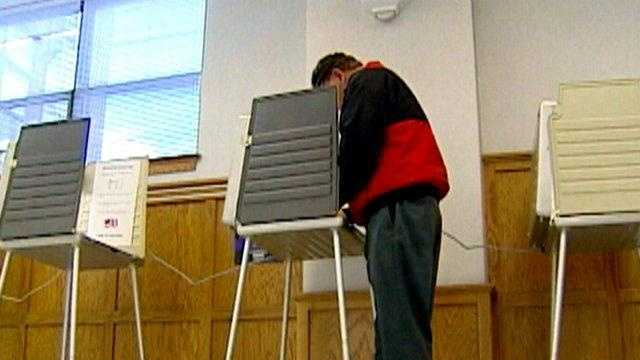 Generic Voting Booth - 15299639