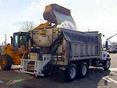Truck Loaded With Salt - 14774584