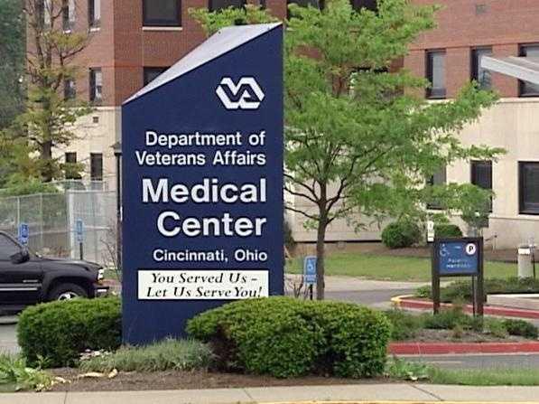 VA Veterans Hospital sign - 13300873