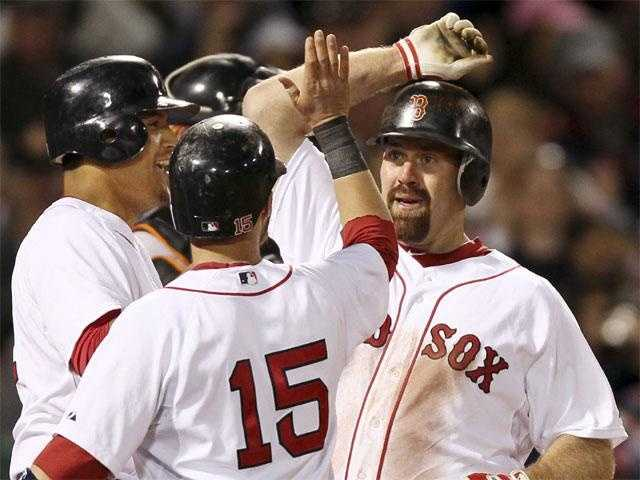 Youkilis made his Major League debut on May 15, 2004, after 3rd baseman Bill Mueller was placed on the DL.
