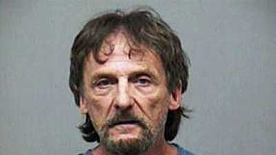 William Donohoe, accused of setting his own home on fire.