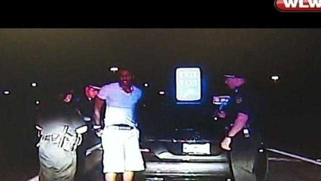Police have released cruiser cam video from the arrest of Reds left-hander Aroldis Chapman.