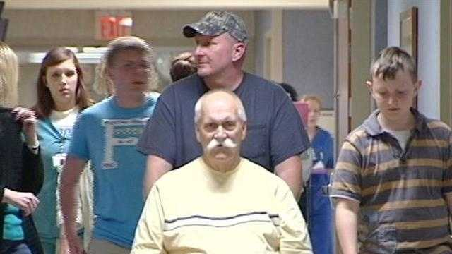 A war veteran from Independence, Ky. is fighting to get his life back after a workplace injury.