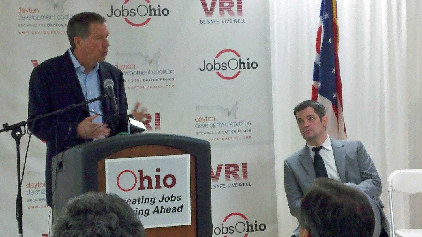 Gov. John Kasich in Franklin - 31028504