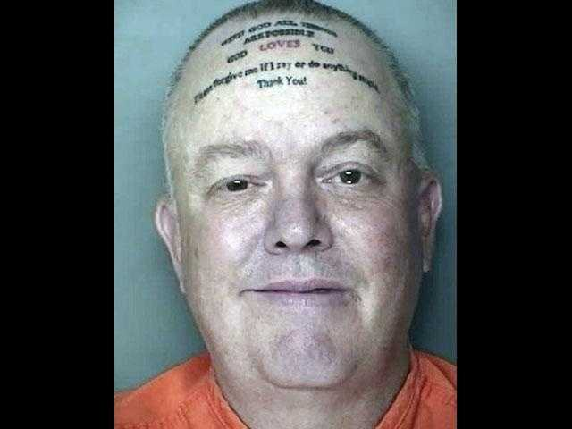 WYFF reports: Suspect tattoos 'forgive me' on forehead