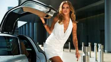 "Rosie Huntington-Whiteley in ""Transformers: Dark of the Moon"""