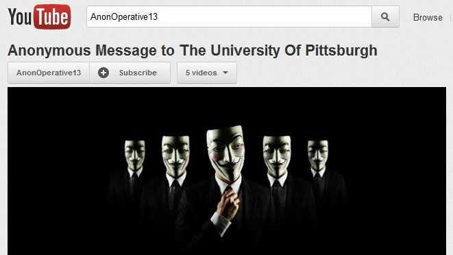 University of Pittsburgh threat image