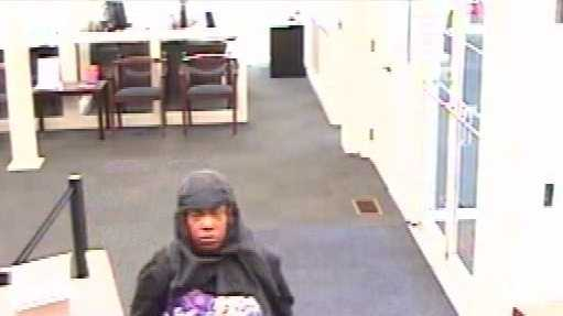 Police release surveillance pictures from a robbery Monday at PNC Bank in Clifton.