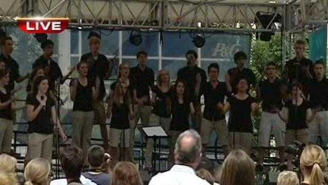 Choir noon