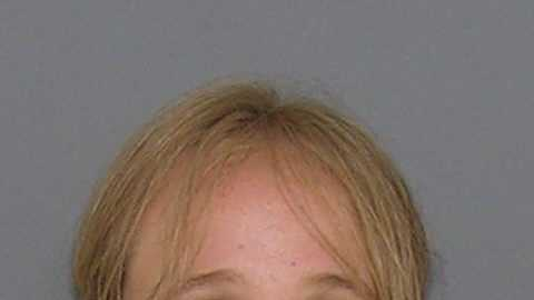 Jaclyn Lauwerier, accused of having a rolling meth lab in her car. More info here.