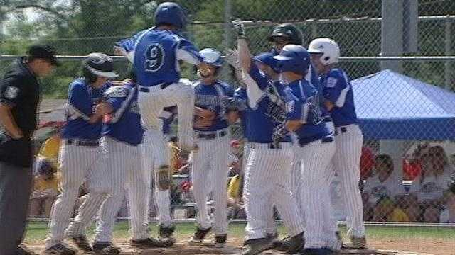 10 teams from across Ohio marched onto Hamilton's west side field Saturday morning, kicking off the Little League state tournament.