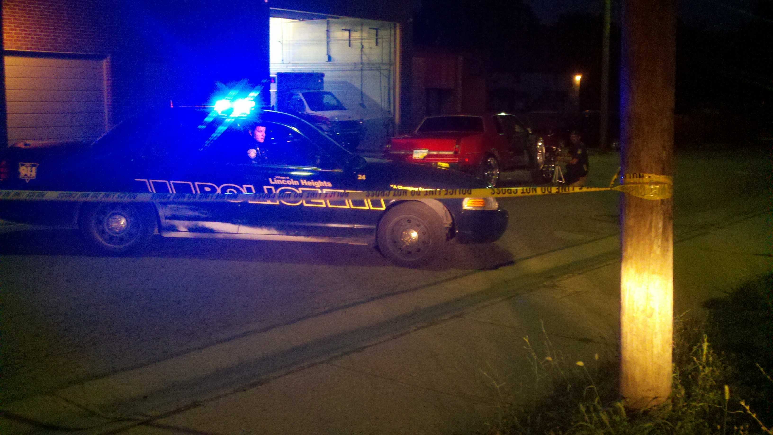Police are investigating a shooting in Lincoln Heights Monday evening.