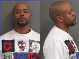 Torriano J. McCullough, arrested after a raid in Hamilton.