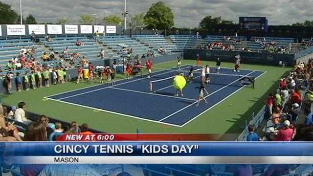 The Lindner Family Tennis Center kicks off the Western & Southern Tournament with its annual Kids Day.