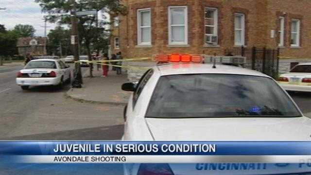 Police search for multiple gunmen after a teen is shot in Avondale.