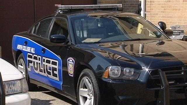 North College Hill police cruiser