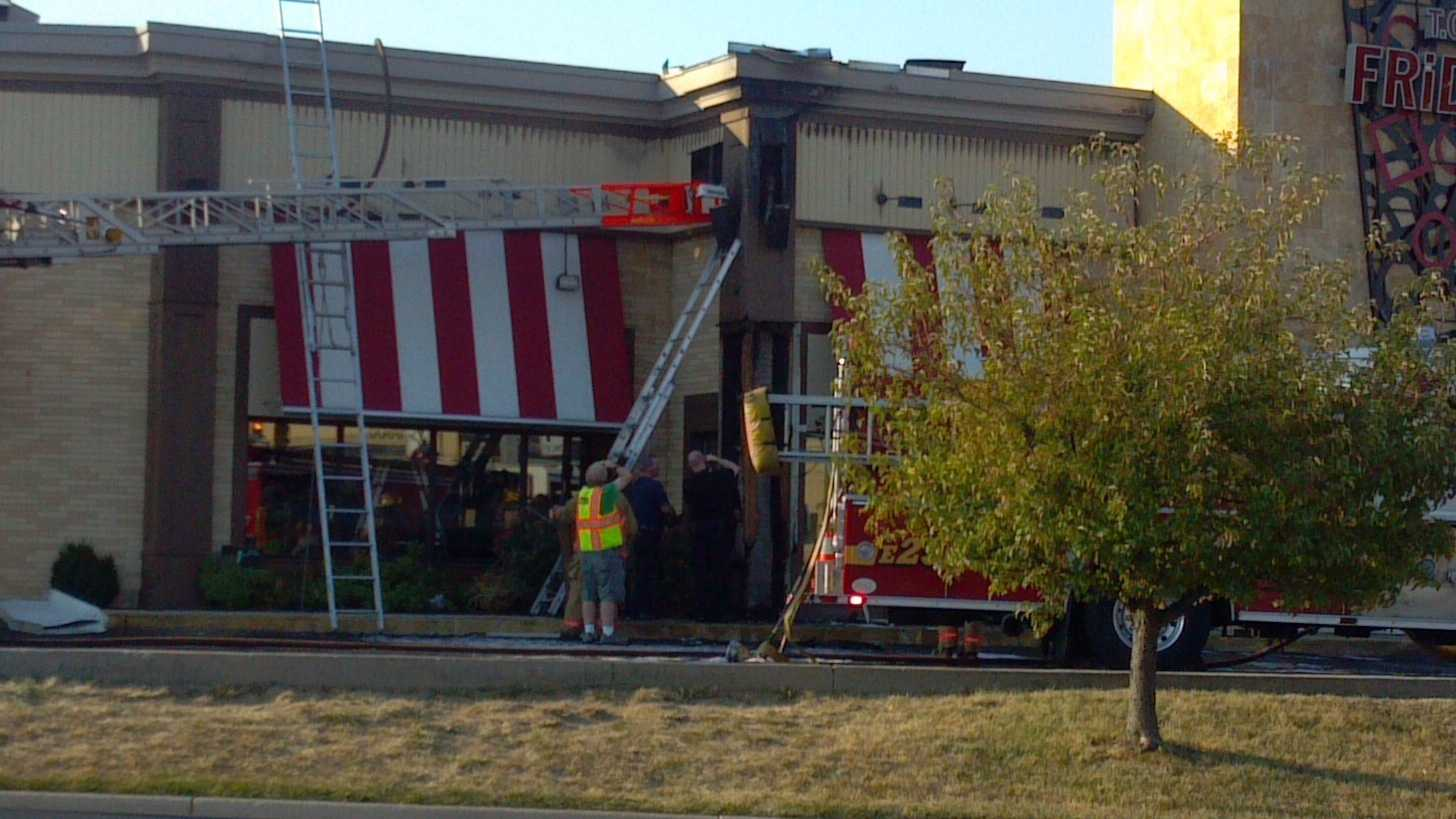 A fire at a Colerain Township restaurant forced patrons to evacuate.