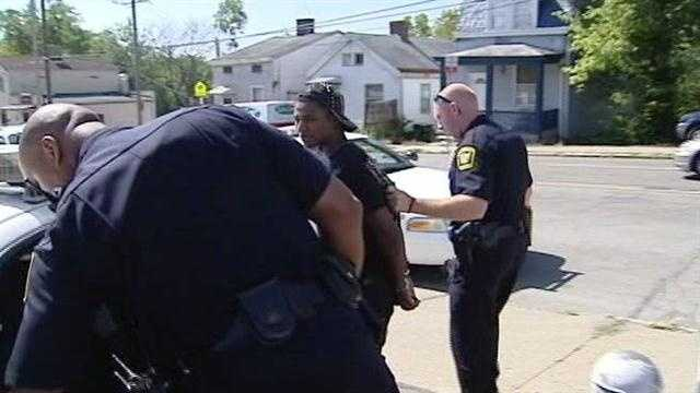 Cincinnati police and federal agents are rounding up suspected gang members Thursday on the city's west side.