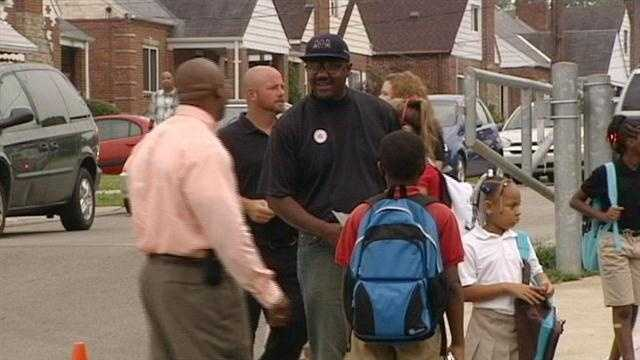 The Million Father March event is part of a nationwide effort to get fathers more involved with education.