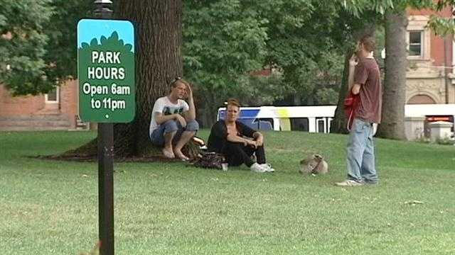 Federal lawsuit filed over Washington Park rules